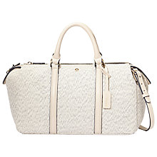 Buy Modalu Henley Bowler Bag, Cream Online at johnlewis.com