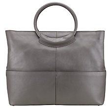 Buy Kin by John Lewis Brite Tube Handle Leather Tote Bag Online at johnlewis.com