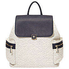 Buy Modalu Henley Rucksack, Navy Mix Online at johnlewis.com