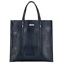 Buy Somerset by Alice Temperley Kingswood Leather Tote Bag, Navy Online at johnlewis.com