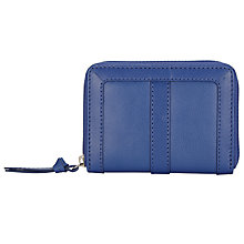 Buy John Lewis Emma Leather Coin Purse, Blue Online at johnlewis.com