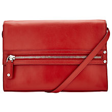 Buy Kin by John Lewis Ake Leather Zip Clutch Online at johnlewis.com