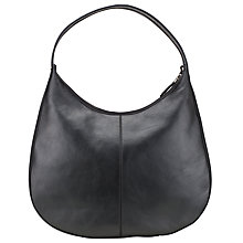 Buy Kin by John Lewis Judit Zip Leather Shoulder Bag Online at johnlewis.com