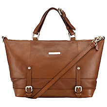 Buy Somerset by Alice Temperley Quailgate Mini Grab Bag, Tan Online at johnlewis.com