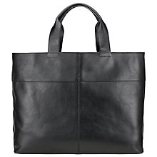 Buy Kin by John Lewis Tyra Leather Tote Bag Online at johnlewis.com