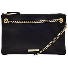 Buy Somerset by Alice Temperley Taunton Across Body Clutch, Black Online at johnlewis.com