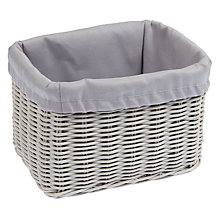 Buy John Lewis Croft Collection Bathroom Storage Box Online at johnlewis.com