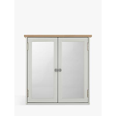 John Lewis Croft Collection Blakeney Double Mirrored Bathroom Cabinet