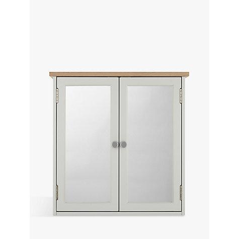 Excellent John Lewis Gloss Curve Single Mirrored Bathroom Cabinet Large  John