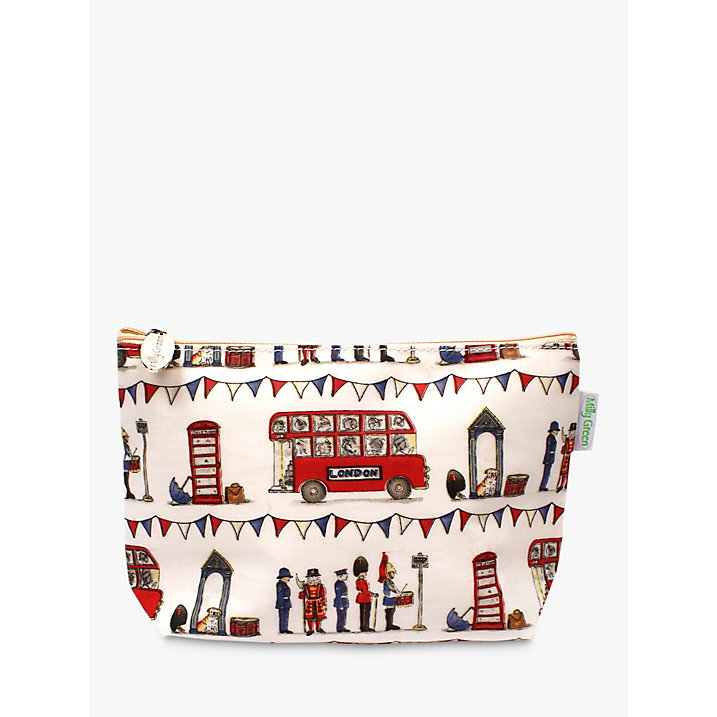 Milly Green Celebrating Britain Cosmetic Bag (£10)