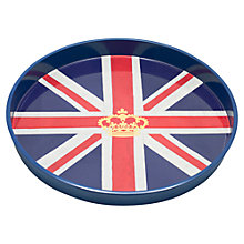 Buy Crown Union Jack Tray Online at johnlewis.com