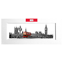 Buy Red Bus Photographic Print Online at johnlewis.com