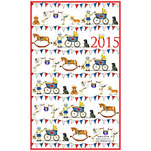 Buy Milly Green Celebrating Britain Royal Baby Tea Towel Online at johnlewis.com