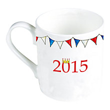 Buy Milly Green Celebration of Britain Royal Baby Mug Online at johnlewis.com