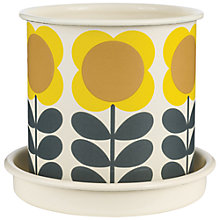 Buy Orla Kiely Plant Pot, Medium Online at johnlewis.com