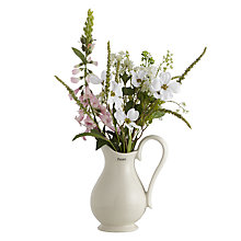 Buy Peony Cottage Garden Mixed Flowers in a Jug, Large Online at johnlewis.com