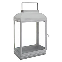 Buy John Lewis Croft Collection Lantern, Blue/Grey Online at johnlewis.com
