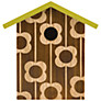 Orla Kiely Engraved Bird House