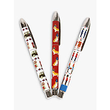 Buy Milly Green Celebrating Britain Rollerball Pen, Assorted Online at johnlewis.com