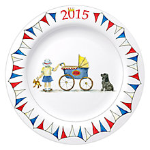 Buy Milly Green Celebrating Britain Royal Baby Side Plate Online at johnlewis.com