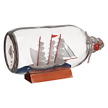 Buy Two's Company Ahoy Ship in a Bottle, Large Online at johnlewis.com