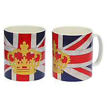 Buy Crown and Union Jack Mug Online at johnlewis.com