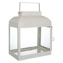 Buy John Lewis Croft Collection Lantern, Marshmallow Online at johnlewis.com