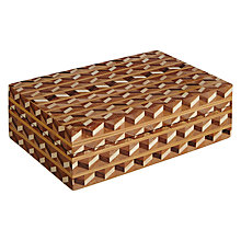 Buy John Lewis Marquetry Trinket Box Online at johnlewis.com
