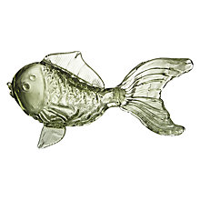 Buy Poshe Glass Fish Ornament, Green Online at johnlewis.com
