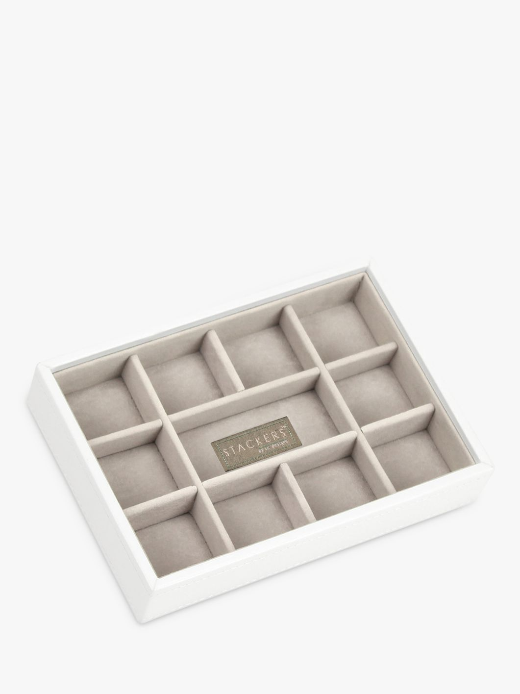 Stackers Stackers, Mini Jewellery Tray, White