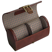 Buy Jacob Jones Checked Watch Box Online at johnlewis.com
