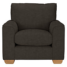 Buy John Lewis The Basics Hadley Armchair, Hayden Charcoal Online at johnlewis.com