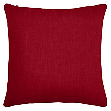 Buy John Lewis Scatter Cushion, Turin Crimson Red Online at johnlewis.com