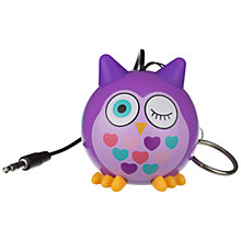 Buy KitSound Mini Buddy Owl Speaker Online at johnlewis.com