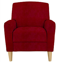 Buy John Lewis Sullivan Chair, Crimson Red Online at johnlewis.com