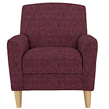 Buy John Lewis Sullivan Chair, Etch Magenta Online at johnlewis.com
