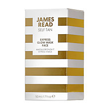 Buy James Read Express Glow Mask Face, 50ml Online at johnlewis.com