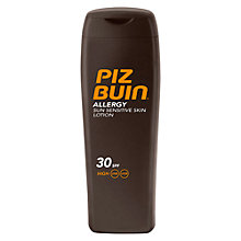 Buy Piz Buin Allergy SPF30 Sun Lotion, 200ml Online at johnlewis.com