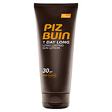 Buy Piz Buin 1 Day SPF30 Sun Lotion, 200ml Online at johnlewis.com