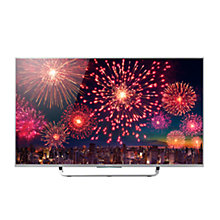 "Buy Sony Bravia KD43X8307CBU LED 4K Ultra-HD Android TV, 43"" with Freeview HD and Built-In Wi-Fi, Silver with Bluetooth Soundbar, Black Online at johnlewis.com"