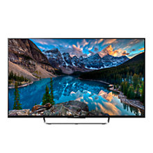 "Buy Sony Bravia KDL43W805CBU LED HD 1080p 3D Android TV, 43"" with Freeview HD, Built-In Wi-Fi & 2x 3D Glasses Online at johnlewis.com"