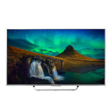 "Buy Sony Bravia KD55X8507CBU 4K UHD LED 3D Android TV, 55"" with Freeview HD and Built-In Wi-Fi, Silver with Bluetooth Soundbar, Black Online at johnlewis.com"