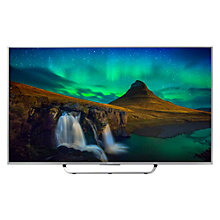 "Buy Sony Bravia KD65X8507CBU 4K UHD LED 3D Android TV, 65"" with Freeview HD and Built-In Wi-Fi, Silver with Bluetooth Soundbar, Silver Online at johnlewis.com"