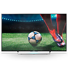 "Buy Sony Bravia KD55X85 LED HDR 4K Ultra HD 3D Android TV, 55"" with Freeview HD, Youview & Built-In Wi-Fi Online at johnlewis.com"