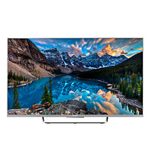 "Buy Sony Bravia KDL50W807CBU LED HD 1080p 3D Android TV, 50"" with Freeview HD and Built-In Wi-Fi, Silver +  HT-NT5 Sound Bar & Subwoofer Online at johnlewis.com"
