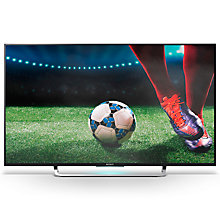 "Buy Sony Bravia KD49X83 4K Ultra HD Android TV, 49"" with Freeview HD, Youview & Built-In Wi-Fi  + Bluetooth Sound Bar & Wireless Subwoofer Online at johnlewis.com"
