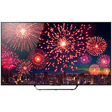 "Buy Sony Bravia KD75X8505CBU 4K UHD LED 3D Android TV, 75"" with Freeview HD/freesat HD and Built-In Wi-Fi Online at johnlewis.com"