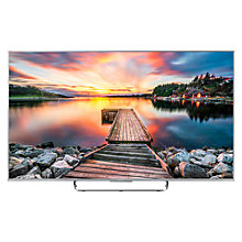 "Buy Sony Bravia KDL65W855C LED HD 1080p 3D Android TV, 65"" with Freeview HD and Built-In Wi-Fi, Silver with FREE Bluetooth Soundbar Online at johnlewis.com"