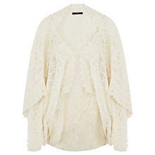 Buy Oasis Paloma Cape, Cream Online at johnlewis.com
