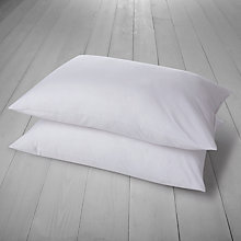 Buy John Lewis Allergy Guard Standard Pillow, Medium, Pair Online at johnlewis.com